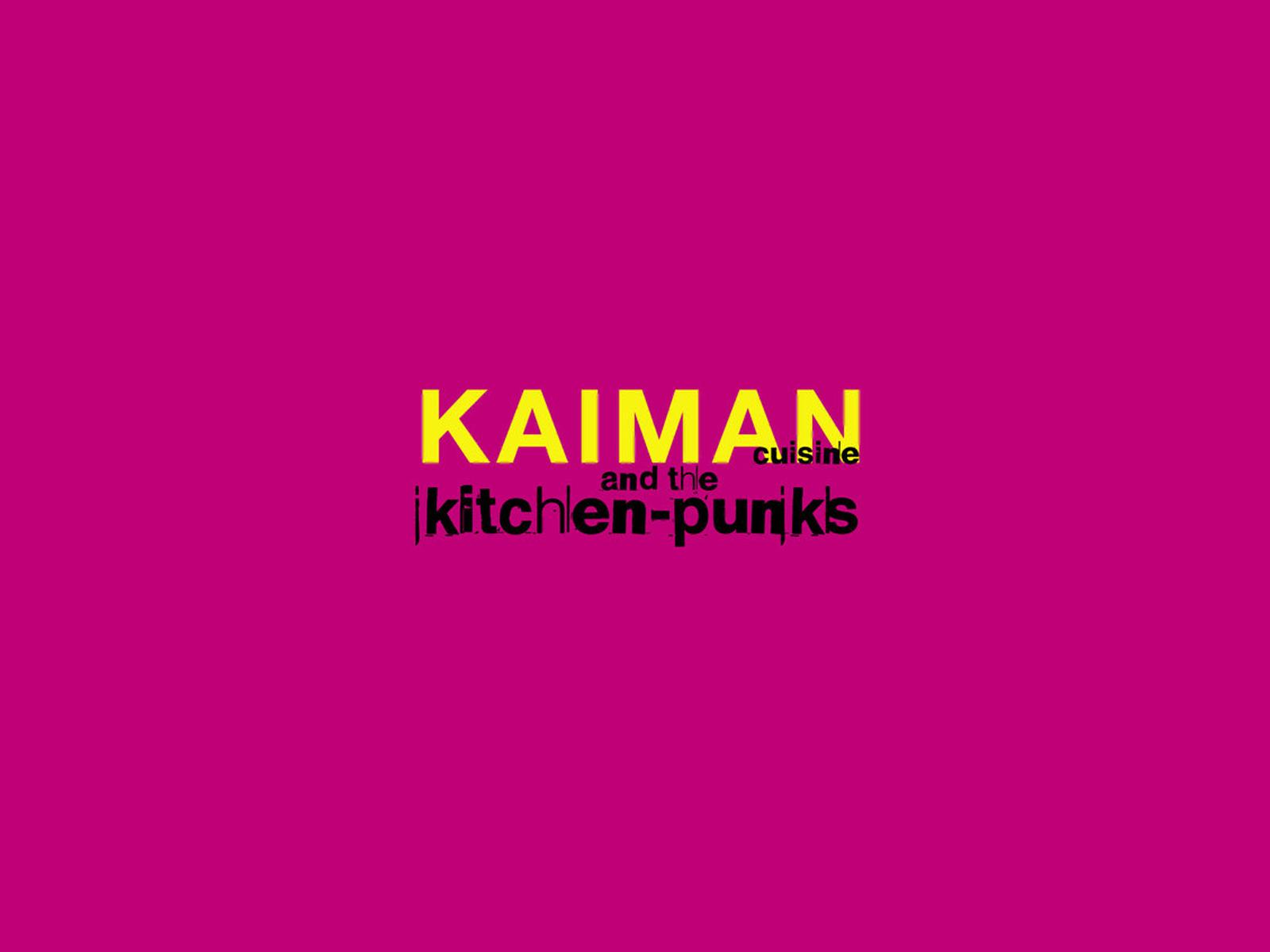 Kaiman cuisine kitchenpunks Logo